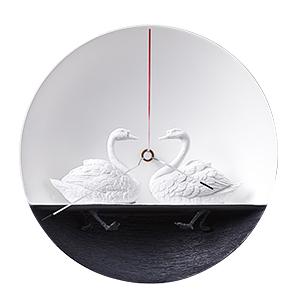 Часы Влюблённые Лебеди (1)