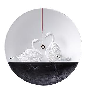 Часы Влюблённые Лебеди (2)