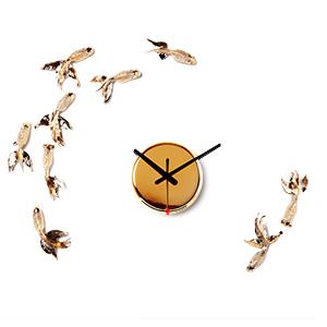 Часы Золотые Рыбки (позолота)